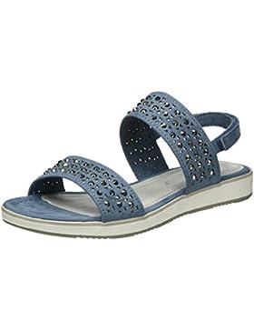 Marco Tozzi Mädchen 48204 Offene Sandalen mit Keilabsatz
