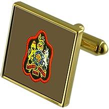 Insignia del ejército Sargento Mayor rango de tono Oro gemelos en la bolsa