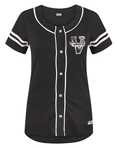 Star Wars Dark Side Women's Baseball T-Shirt (XXL)