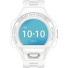"""Alcatel Onetouch Go Watch - Reloj Smart, pantalla 1.22"""", resolución 240 x 204, color blanco y gris claro"""