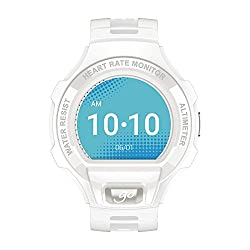 Smartw.alcatel Sm03 White,smart Watch
