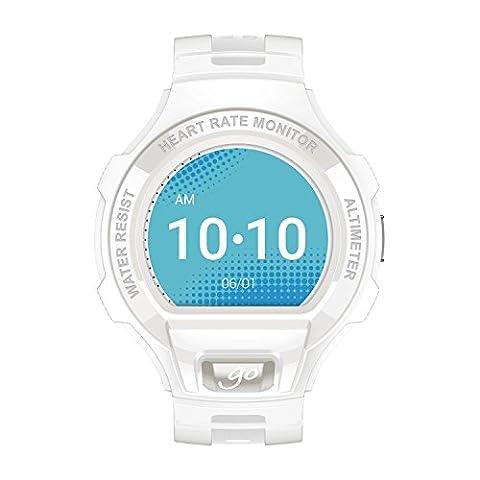 Alcatel SM03-2AALWE7 Smart Uhr weiß/hellgrau