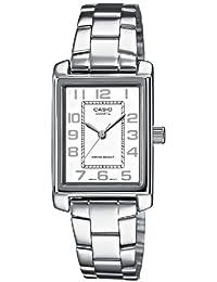 CASIO LTP1234D7BEF - Reloj de mujer de cuarzo, correa de acero inoxidable color plata