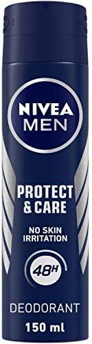 NIVEA Men Deodorant, Protect & Care, No Skin Irritation & 48h Freshness