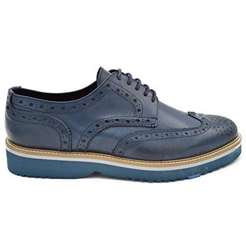 bristol-scarpa-derby-inglese-in-pelle-spazzolata-blu-stringata-su-fondo-eva-ultraleggero-uomo-eu-43