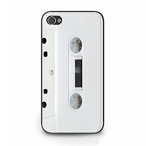 Iphone 4/4s Magnetic Tape Shell Cover,Personality Cusom Music Tapes Phone Case Cover for Iphone 4/4s Cassettes Cool Color099d