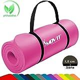 MOVIT Tapis de Gymnastique Mat de Yoga sans phtalate Fitness Pilates/Sport/Gym...