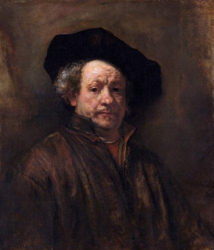 rembrandt-self-portrait-1660-108-x-1267-canvas-art-print-by-giclee-canvas-prints