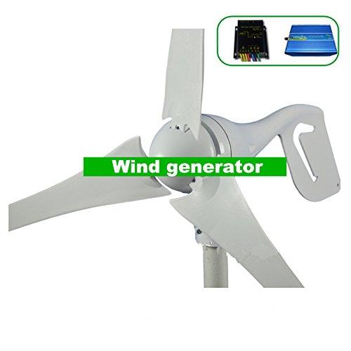 Molino-GOWE-generador-400-W-nominal-600-W-max-generador-elico-vientoregulador-hbrido-solar-pantalla-LED-600w-de-rejilla-inversor