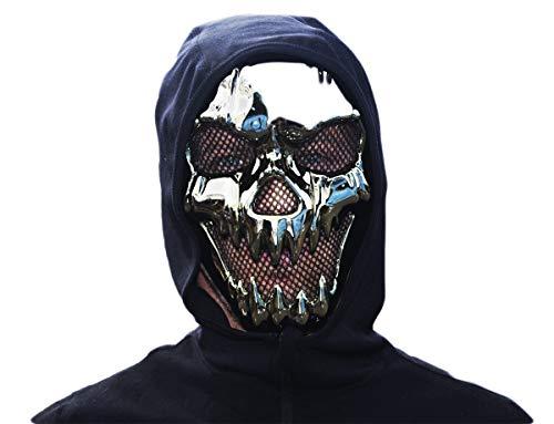 GYD Purge Face Maske Chrom aus sehr hochwärtigem ABS Kunsstoff Ideal zum Sammeln und Verkleiden