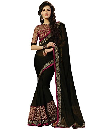 Saree (Women`s Georgette Printed Saree)