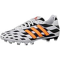 Adidas PREDATOR LZ TRX FG SL NeroGiallo Rosso Jaune Rouge Uomo Scarpe Football