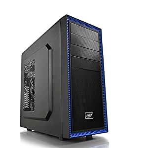 Deepcool Tesseract Bf Mid Tower Computer Case (Black)