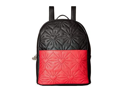 Betsey Johnson Damen Rucksack, schwarz/red (Schwarz) - BB18370-013