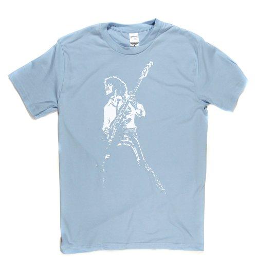 Phil Lynott Live T-shirt (lightblue/white xlarge) Gorham Grande