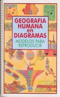 Geografía Humana en diagramas. (Biblioteca de Aula) por Grupo Diagrama