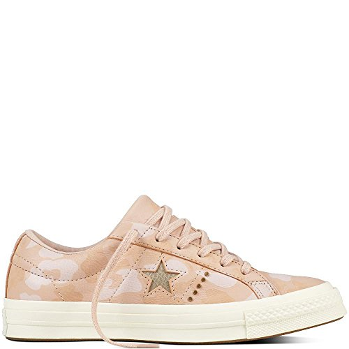 Converse Lifestyle One Star Ox Nubuck, Chaussures de Fitness Mixte Adulte