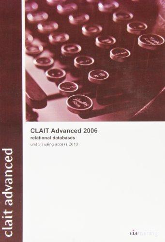 CLAIT Advanced 2006 Unit 3 Relational Da...