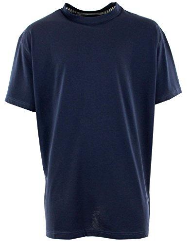 greyes-grande-taille-tee-shirt-us-marine-col-rond-allsize-bleu-3xl