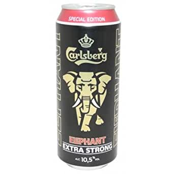 Carlsberg Elephant Extra Strong Limited Edition 24 x 0,5l Dosen