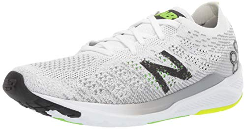 3. new balance Men's 890v7 White/Black Running Shoes