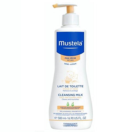 Laboratoire Expanscience Mustela Lait de Toilette avec Pompe pour Bébé 500 ml