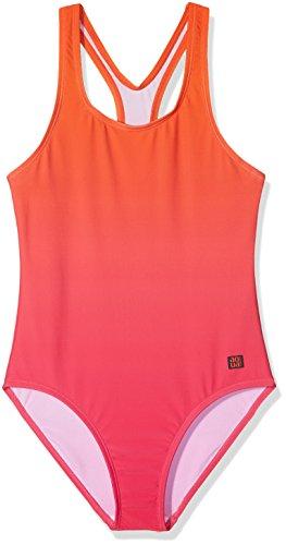 Schiesser Mädchen Badeanzug, Rot (Fuchsia 508), 164