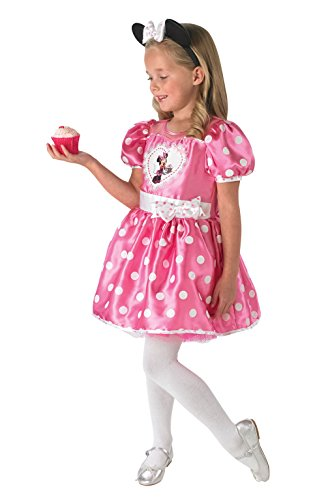 stüm für Kinder - Cupcake Minnie, L, rosa (Cupcake Fancy Dress Outfit)