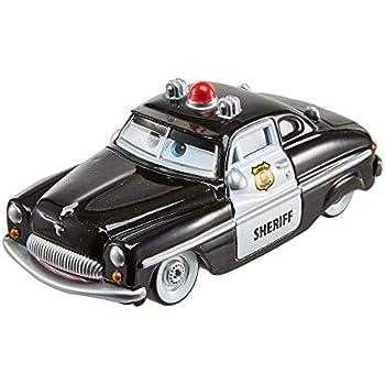 Disney Petite Radiator Sheriff Pixar Voiture Noire Springs Cars eCWxordB