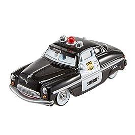 Disney Cars Personaggio Sceriffo, Macchinina Die Cast, Giocattolo per Bambini 3+ Anni, FLM15