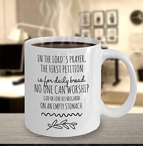 Lustige religiöse Tasse mit Aufschrift