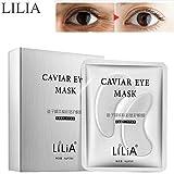 NOTE Lilia Caviar Crystal Eye Mask Gel Eye 10 pares Cuidado de los ojos Mascarillas para el sueño Removedor Dark Dircles Caviare Anti Age Bolsa Parche para arrugas en los ojos