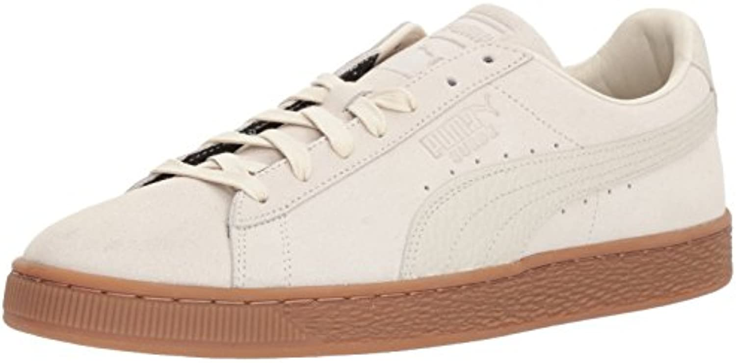 PUMA Men's Suede Classic Natural Warmth Sneaker  Birch Birch  10 M US