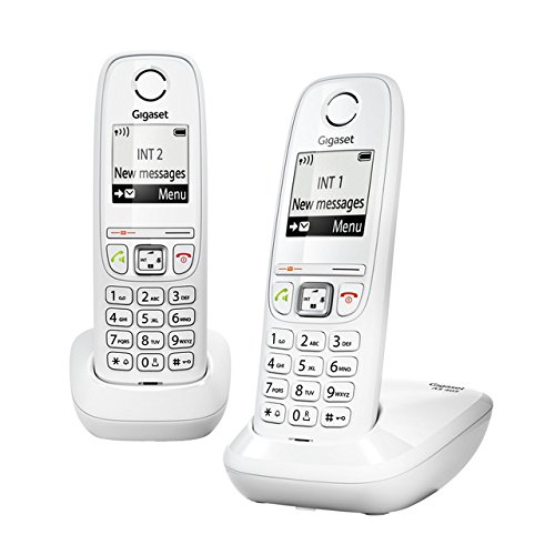 Gigaset   Telefono dect as405 duo whi