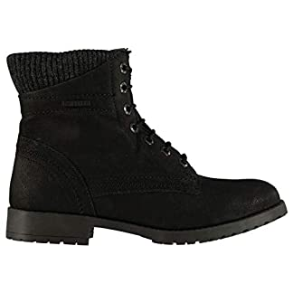 Firetrap Womens Mystic Boots Rugged Lace Up Padded Ankle 5