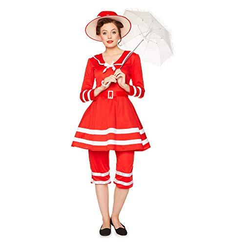 Kostüm Sweeney Todd - Karnival Costumes 81346 Kostüm Women rot xl