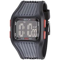 Sector 'Expander' Men's Watch Digital Quartz with Black Resin Strap - R3251172025