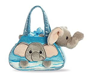 Aurora 32839 Fancy PAL Peek-a-Boo - Elefante, Color Azul