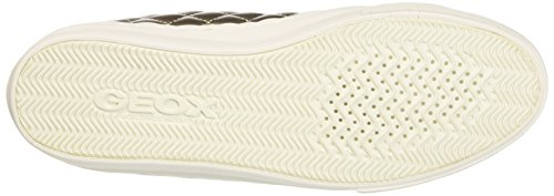 Geox  D New Club A, Sneakers Basses femme Or (Champagne/Lt Taupecb5H6)
