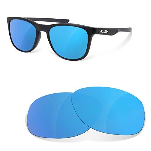 sunglasses restorer Ersatzgläser für Oakley Trillbe X, Ice Blue Polarisierte