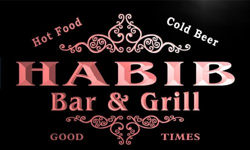 u18317-r-habib-family-name-gift-bar-grill-home-beer-neon-light-sign-enseigne-lumineuse
