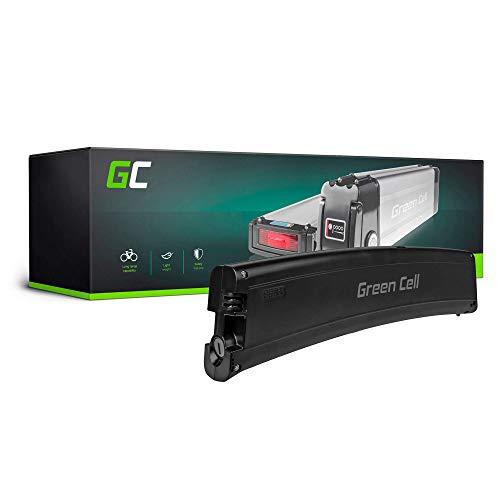 GC® EBIKE Batteria 36V 7.8Ah Bicicletta Elettrica Frame Battery con Celle Panasonic Li-Ion e Caricabatterie Fantic Cityboard Trillium
