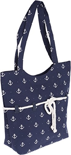 Küstenluder SIENA Sailor Anchor ROPE Anker Punkte TASCHE Rockabilly -
