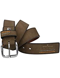 Cinturón hombre SERGIO TACCHINI beige lisa sin pespuntes VR1380