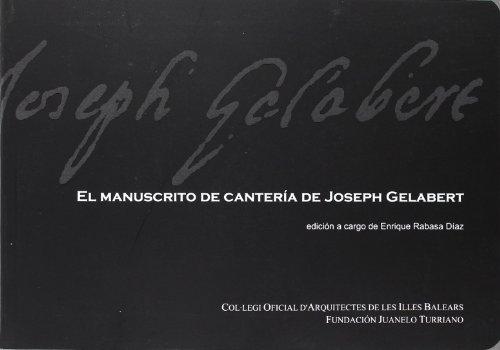 El manuscrito de canteria de josephgelabert