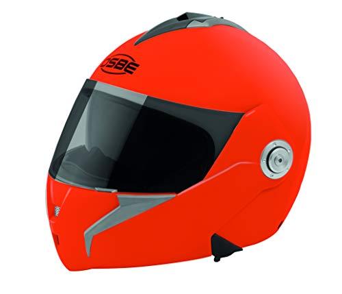 OSBE  CASCO MOTO MODULARE OHB20 DSS ORANGE FLUO S