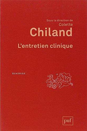 L'entretien clinique par Colette Chiland