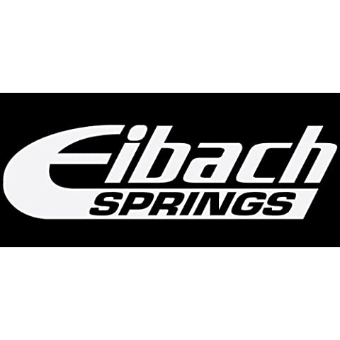 '2 x Eibach Springs á8.5 adesivi vinile Decals Stickers