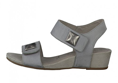 Tamaris Sandali 1-28201-26-200 grigio, Damen Größen:40;Farben:grau