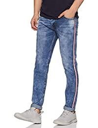 IN TRY Men's Stretchable Slim Fit Jeans